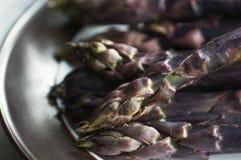 Purple Asparagus Royalty Free Stock Image