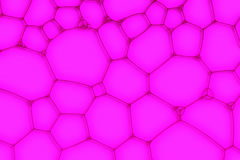 Purple background from the  bubbles Stock Photos