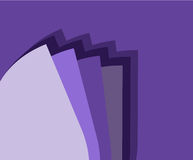 Purple Background with Color Scale. EPS 10 supported Royalty Free Stock Photography
