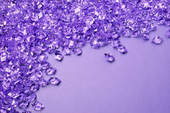 Purple background with copy space Stock Photos