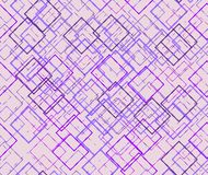 Purple background with fine outline patterns Stock Images