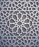 Purple background . Islamic ornament vector , persian motiff . 3d ramadan islamic round pattern elements . Geometric. Logo template set. Circular ornamental Royalty Free Stock Photography