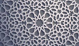 Purple background . Islamic ornament vector , persian motiff . 3d ramadan islamic round pattern elements . Geometric. Logo template set. Circular ornamental Stock Photography