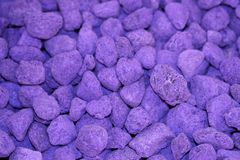 Purple background of rocks Royalty Free Stock Photography