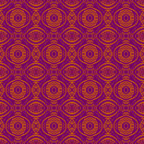 Purple background with seamless floral pattern. Ideal for print Stock Photos