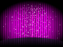 Purple background with  stripes Stock Photo