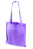 Purple bag. Isolated on a white background Stock Photo