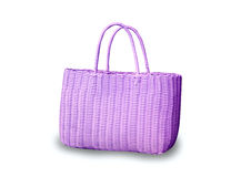 Purple bag Stock Photos