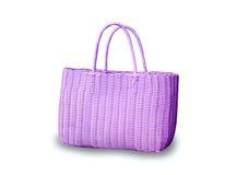 Purple bag Stock Photos