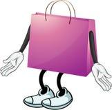 A purple bag Royalty Free Stock Photos