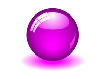 Purple Ball Royalty Free Stock Photo