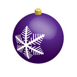 Purple ball Royalty Free Stock Photos