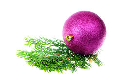 Purple Ball Royalty Free Stock Photos