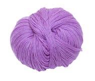 Purple Ball Of Yarn Royalty Free Stock Image