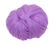 Purple ball of yarn Royalty Free Stock Image