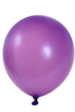 Purple balloon royalty free stock photography