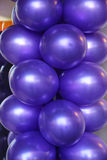 Purple Balloons Royalty Free Stock Images