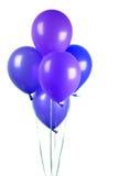Purple balloons Royalty Free Stock Photo