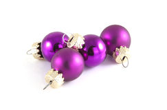 Purple balls Royalty Free Stock Image