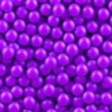 Purple balls background Stock Photography