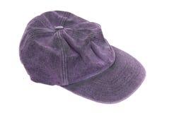 Purple baseball hat Stock Image