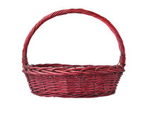 Purple basket Stock Images
