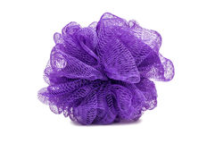 Purple Bath Scrubber Loofa Royalty Free Stock Images