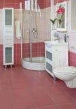 Purple Bathroom Stock Photo