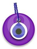 Purple bead Royalty Free Stock Image