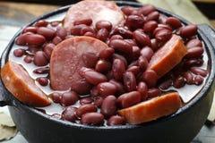 Purple bean feijoada Royalty Free Stock Images