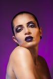 Purple beauty Stock Images