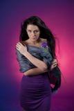 Purple beauty Royalty Free Stock Photography