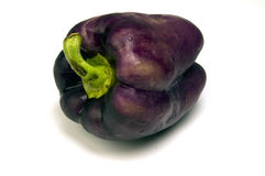 Purple bell pepper Royalty Free Stock Image