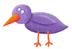 Purple bird Royalty Free Stock Photo