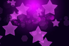 Purple and black gradient background Stock Image