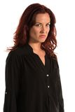 Purple blouse Royalty Free Stock Image