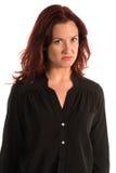 Purple blouse Royalty Free Stock Photo