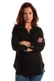 Purple blouse Stock Photo