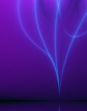 Purple and Blue Abstract Design with Light Effect Stock Photo
