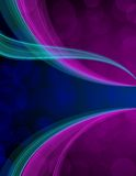 Purple and blue background Stock Images