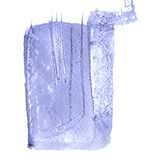 Purple blue background. Grunge surface pattern design. Washes texture. Abstract stains and splashes. Textured painted template. Watercolor painting artwork Stock Photo