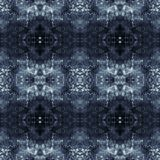Purple, Blue and Black Grunge Abstract Seamless Pattern Stock Images
