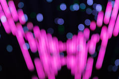 Purple and Blue bokeh circles light effect Royalty Free Stock Photos