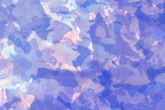 Purple Blue and light pink watercolor background royalty free illustration