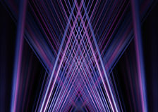 Purple and blue light trails background Royalty Free Stock Photo