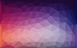 Purple blue lowpoly abstract background. Vector stock illustration