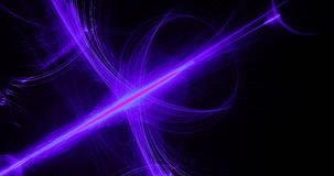 Purple Blue Pink Abstract Lines Curves Particles Background Stock Photo