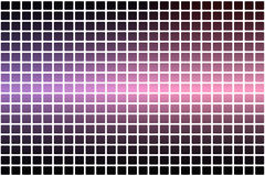 Purple blue pink abstract rounded mosaic background over white Stock Photos