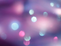 Purple Blue Pink Blur Background - Stock Picture. Purple Blur Background - Blue and Pink Blurred Lights - Abstract Wallpaper with Christmas Blurring Dots Stock Photography