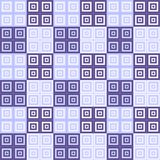 Purple and blue square cube pattern background. Purple and blue squares inside squares cube pattern background wallpaper Stock Image